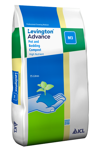 Levington Advance Pot & Bedding M3 Levington Advance Pot & Bedding M3