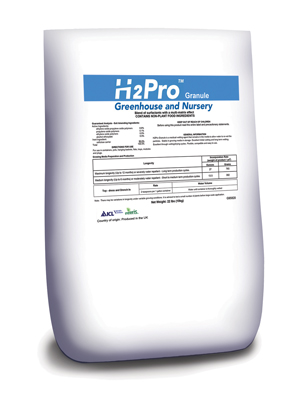 Surfactants H2Pro Greenhouse and Nursery Granular