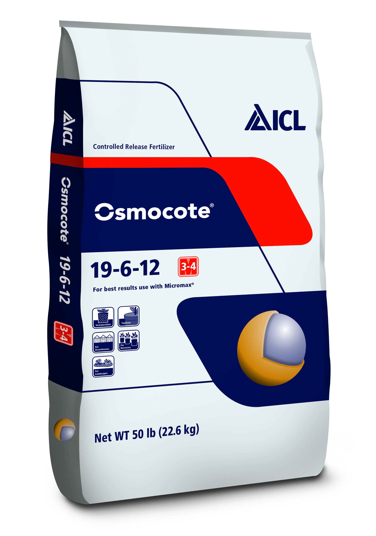 Osmocote®  19-6-12, 3-4M
