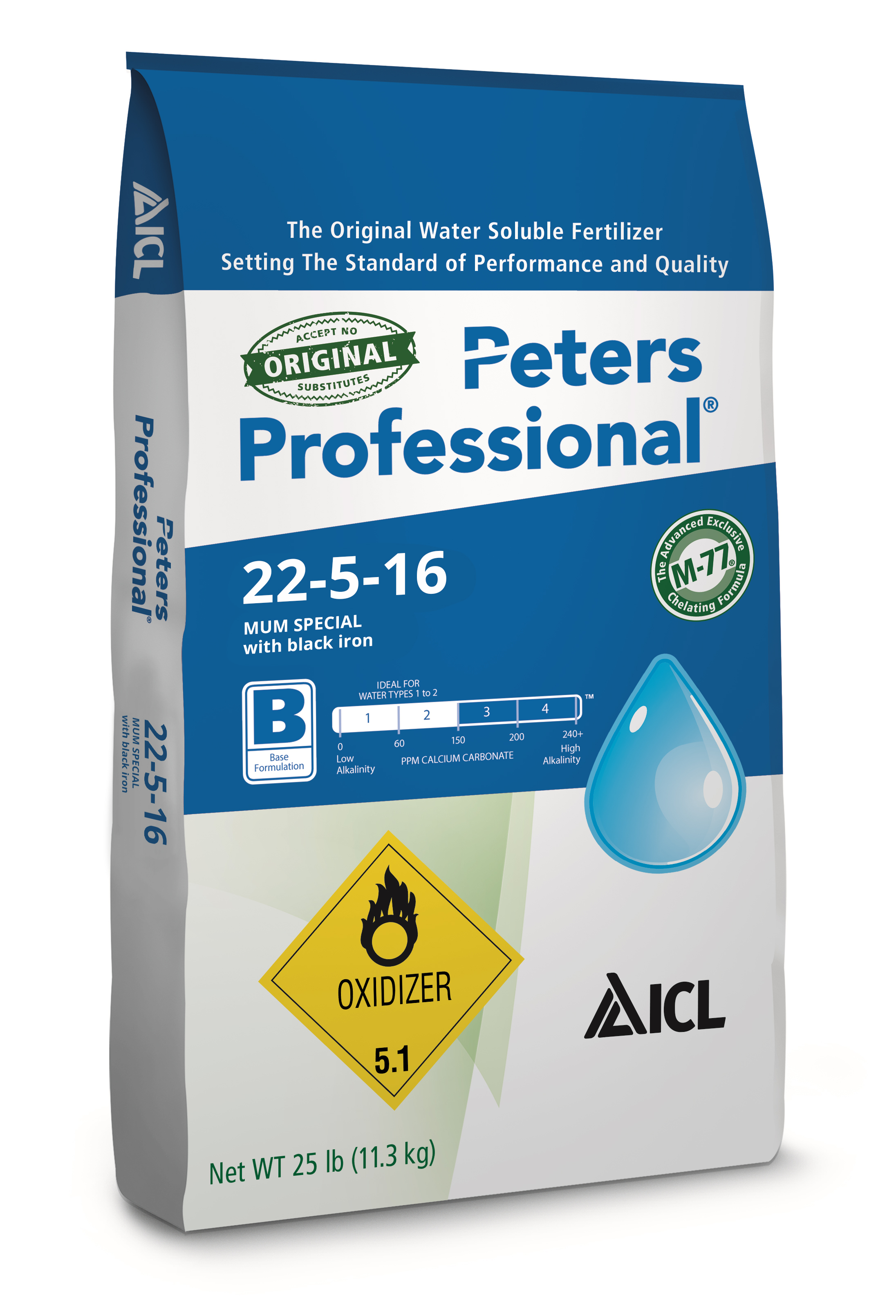 Peters Professional 22-5-16 Mum Special with black iron